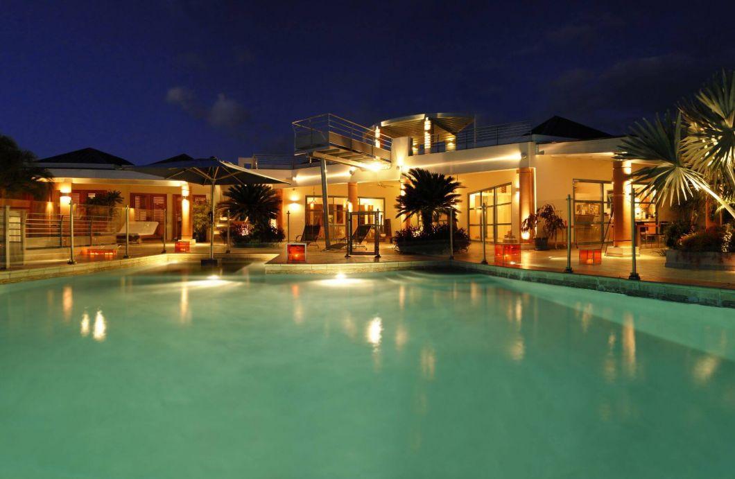0055-Villa Dema Twilight pool pano